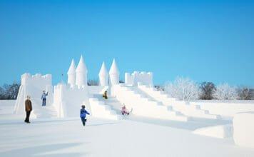 Снежные горки. Секреты  строительства и заливки.