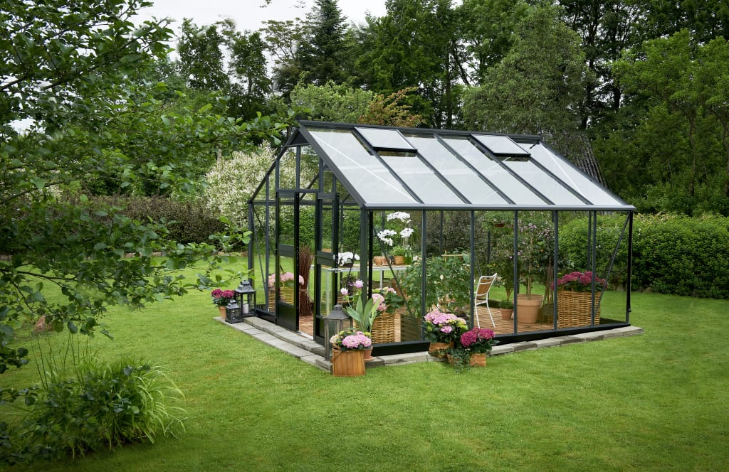 Greenhouses for the garden