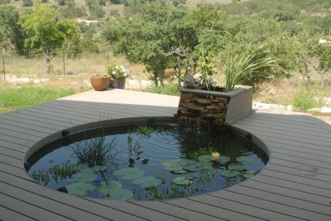 minimalist fish pond design ideas 284807456540903620675 - Как создать пруд с рыбами на даче